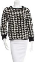 Golden Goose Deluxe Brand Houndstooth Wool Sweater