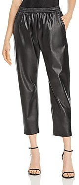HUGO BOSS Taledy Vegan Leather Jogger Pants