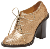 Charlotte Olympia Claudine Glitter Oxford