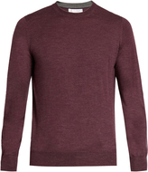 Brunello Cucinelli Crew-neck wool and cashmere-blend sweater