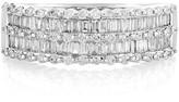 Effy Jewelry Effy Pave Classica 14K White Gold Diamond Ring, 0.75 TCW
