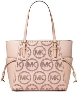 Michael Kors Michael Voyager East West Leather Tote