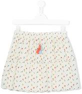 Chloé Kids - teen fantasia print skirt - kids - Cotton - 14 yrs