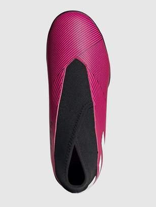 adidas Junior Nemeziz Laceless 19.3 Astro Turf Boot