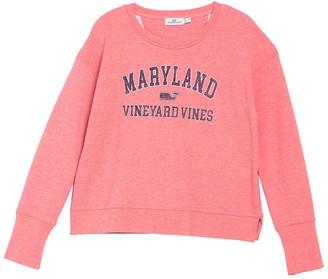Vineyard Vines Maryland Crew Neck Pullover Sweatshirt