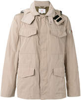 Peuterey multi-pockets hooded jacket