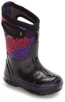 Bogs Girl's Classic Rosey Waterproof Snow Boot
