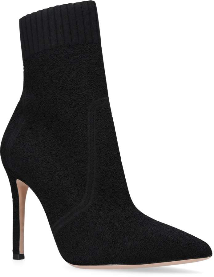 Gianvito Rossi Fiona Ankle Boots 105