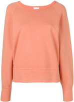 Rag & Bone raw neck sweatshirt - women - Cotton - XS