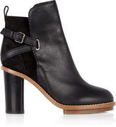 Thumbnail for your product : Acne 19657 Acne Black Cypress Ankle Boots