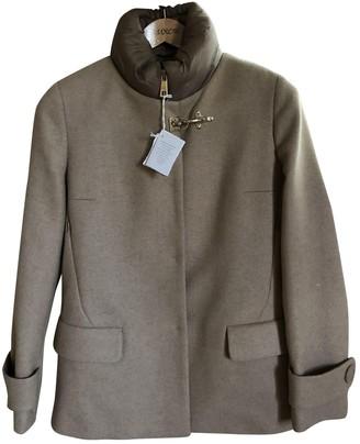Fay Camel Wool Coat for Women