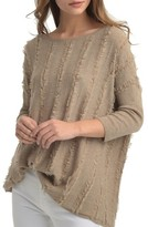 Ella Moss Women's Catalin Fringe Sweater