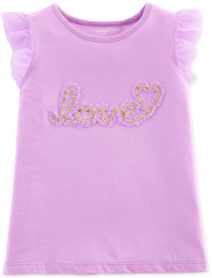 814b075b Carter's Purple Girls' Tops - ShopStyle