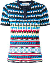 Mary Katrantzou diamond print top - women - Viscose - S