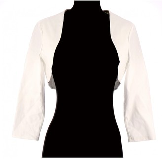 Paule Ka White Cotton Knitwear for Women