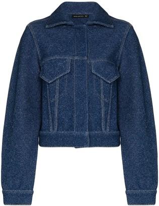 Alled Martinez Slim-Fit Denim Jacket