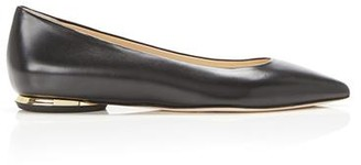 Marion Parke Must Have Flat | Leather Classic Pointy Toe Flat
