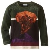 Dolce & Gabbana Volcano Print Long Sleeve T-Shirt (Toddler/Little Kids)