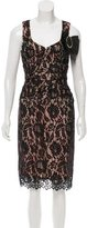 Nanette Lepore Lace Overlay Bow Dress w/ Tags