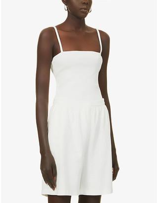 The Odderside Olsen square-neckline stretch-cotton body