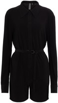 Thumbnail for your product : Norma Kamali Belted jumpsuit