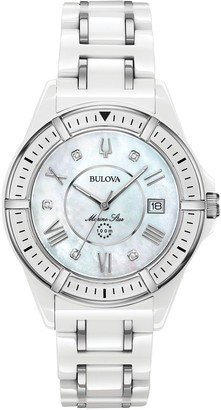 Bulova Women's Ceramic Marine Star Diamond Watch