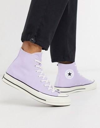 Converse Chuck 70 Hi sneakers in lilac