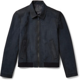 Prada Oiled-Suede Jacket