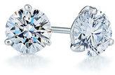 0.25ct tw Diamond & Platinum Stud Earrings