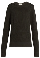 Lemaire Oversized ribbed-knit wool sweater