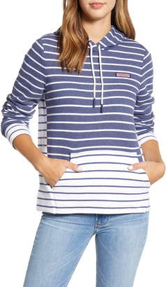 Vineyard Vines Mixed Stripe Hooded Sweatshirt