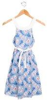 Cacharel Girls' Sleeveless Printed Dress w/ Tags