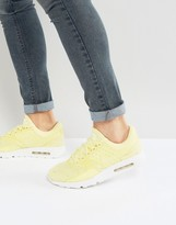 Nike Air Max Zero Breathe Trainers In Yellow 903892-700