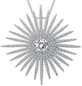Lafonn Simulated Diamond Starburst Necklace
