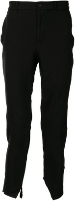 Comme des Garcons Asymmetric-Hem Tailored Trousers