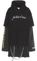 Vetements Printed Cotton-blend Dress