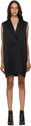 MM6 MAISON MARGIELA Black Sleeveless Blazer Dress