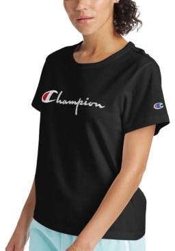 Champion The Girlfriend Cotton Logo T-Shirt