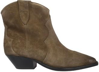 Isabel Marant Washed Santiago Ankle Boots