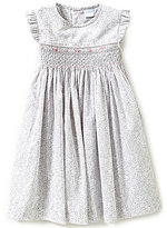 Edgehill Collection Little Girls 2T-4T Smocked Dress