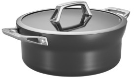 Zwilling J.A. Henckels Motion Aluminum Hard Anodized Nonstick 5-qt Dutch Oven