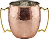 Old Dutch 2 Handled Jumbo 192 Oz Mug Hammered Solid Copper