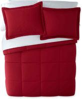 JCPenney Stayclean Nanofibre Down-Alternative Comforter Set
