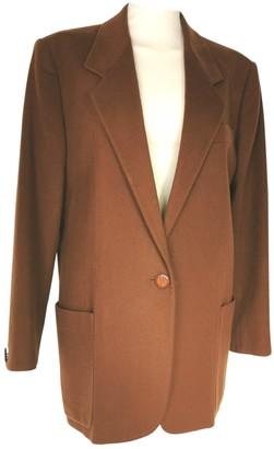 Genny Camel Wool Jacket for Women