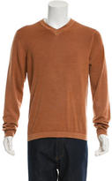 Jil Sander Wool V-Neck Sweater