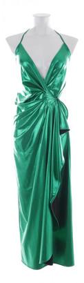ATTICO Green Synthetic Dresses