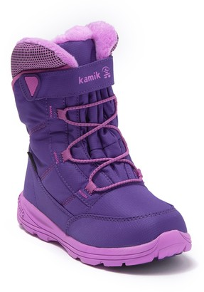 Kamik Stance Waterproof Fleece Lined Winter Boot (Toddler, Little Kid, & Big Kid)