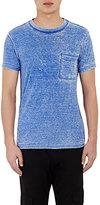 NSF Men's Burnout Paulie T-Shirt-BLUE
