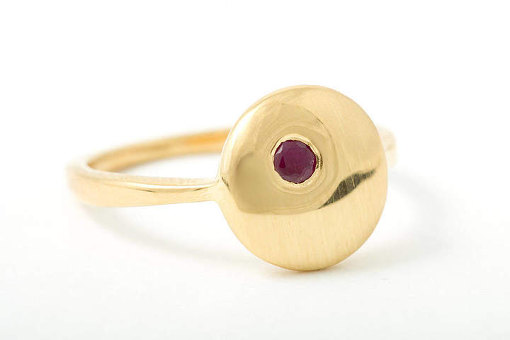 Rubie's Costume Co Corinne Hamak Moon Small Ring With
