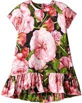 Dolce & Gabbana Rose Interlock Dress Girl's Dress